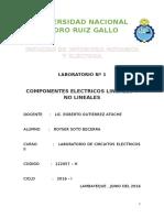 Monografía - Componentes Eléctricos Lineales