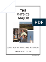 Phys Major Brochure
