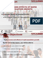 De Cuong Basic 17.11 .2015 .Causes and Effects of Rapid Population Growth