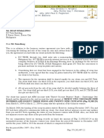 Letter to Sumalinog2