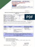 Protocol de Dezinfectie Si Pretratare Pentru Echipamente Medicale