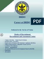 Career at DRDO