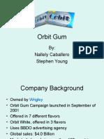 BA 493 Orbit Gum