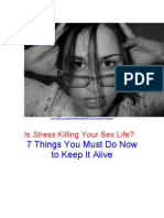 Is Stress Killing Your Sex Life