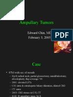 Ampullary Tumors - EChin