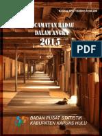 Kecamatan Badau Dalam Angka 2015