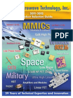 RF Uw Technology Inc Product Selection Guide 2011_2012