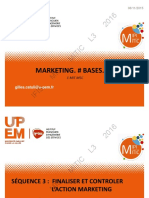 Marketing - Finaliser Et Controler L'action Marketing