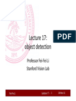 Lecture17 Object Detection Cs231a (1)
