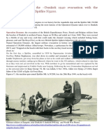 Real Heroes Never Die –Dunkirk 1940 Evacuation With the Aquabelle Yacht and Spitfire N3200.