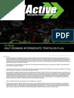 Half Ironman Program 24 Week Intermediate