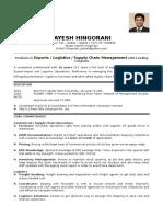Jayesh Hingorani CV