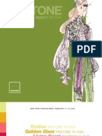 PANTONE Fashion Color Report Fall 2010