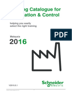 Schneider Customer Training Catalogue