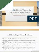 Dr Agung Sepsis Definisi Terbaru Dan Implementasi Sepsis Bun