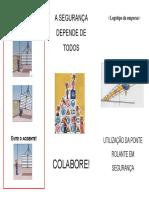 Folheto Ponte Rolante