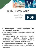 André Melo_aladi, Nafta e Apec