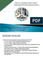 Strategi k3 Rumah Sakit Dan Pengendalian Potensi.rev Spk