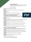 Event List Wcdma