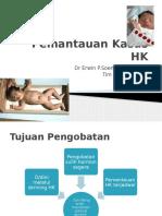 Pemantauan Kasus HK Pelatihan SHK
