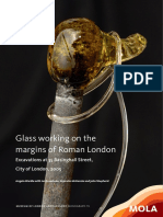 Glass working on the margins of Roman London