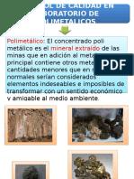Presentacion de Control de Calidad de Lab Polimetalicos