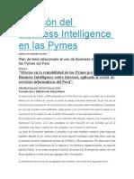 El rincón del Business Intelligence en las Pymes peru.docx