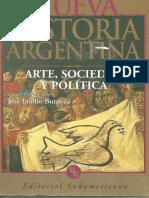 BÚRUCUA, Jose Emilio - Nueva Historia Argentina (Arte, Sociedad y Politica)