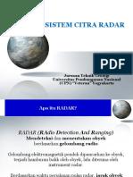 8 Sistem Citra Radar
