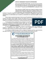 SUNAT DEVUELVE RUC AL VERDADERO COLEGIO DE PROFESORES
