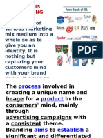 Branding & Brand Management