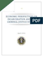 20160423 Cea Incarceration Criminal Justice