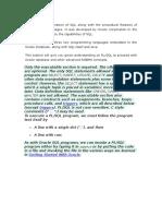Plsql Notes