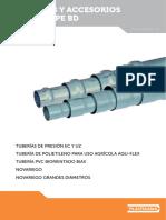 Tuberias y Accesorios PVC