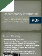 documentary information