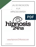 ⭐MANUAL DE INICIACIÓN A LA HIPNOSIS RAPIDA