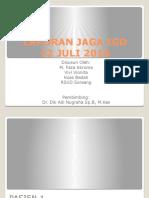 Laporan Jaga Igd 12 Juli 2016 Pagi