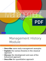 0 History of Management