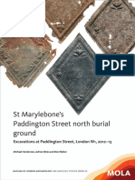 St Marylebone's Paddington Street north burial ground