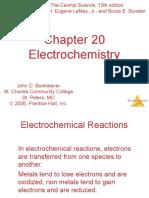 Ch 20 Electrochemistry