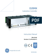 D20MX Substation Controller Instruction Manual