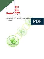 Sim808 Evb Kit User Guide v1.00