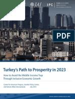 Turkey's Path to Prosperity in 2023