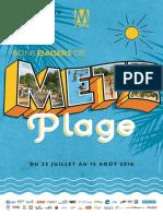 Metz Plage 2016