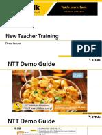 NTT Demo Lesson