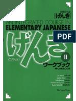 Genki II Workbook