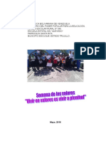 Informe Valores Mayo