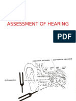 Assessment of Hearing