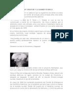 Albert Einstein y La Bomba Atomica