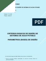 Tema 4 Estud. Periodo Diseño, Vida Util, Dotacion, Demanda, Qdiseño S2-2015